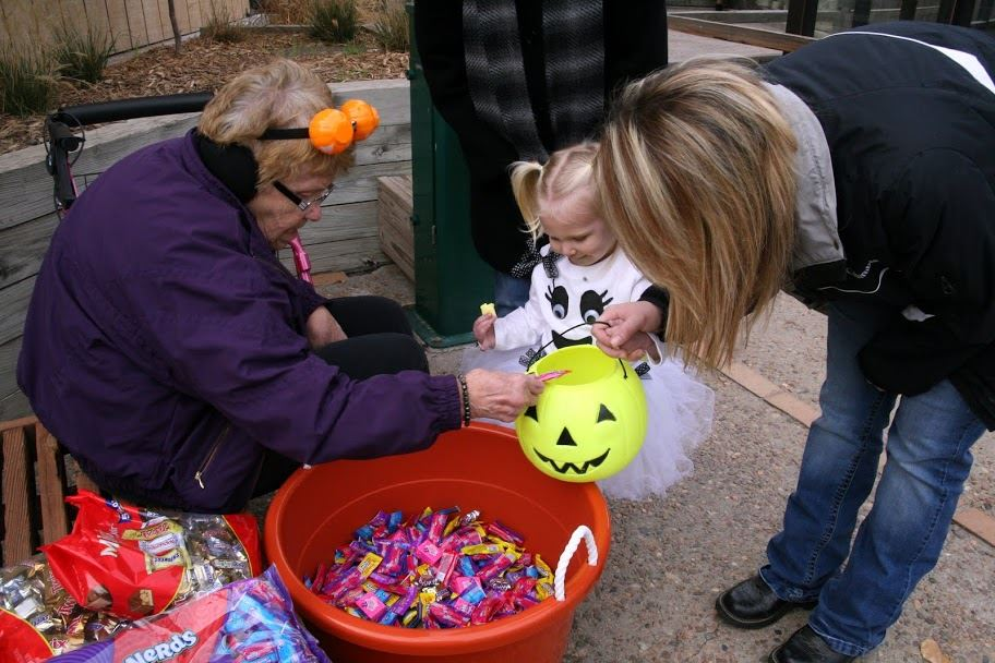 Kids Getting Candy