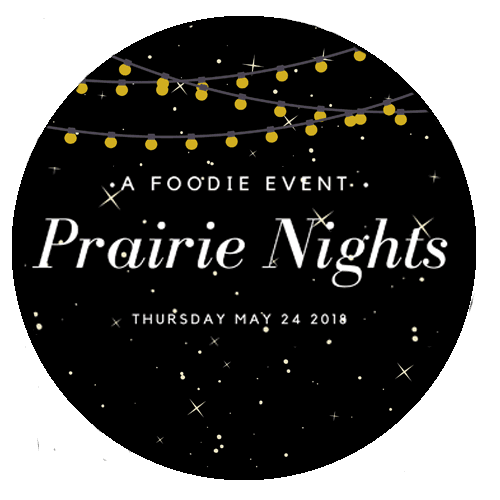Prairie Night round logo