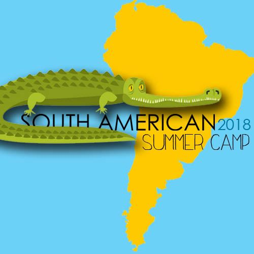South American summer camp website logo