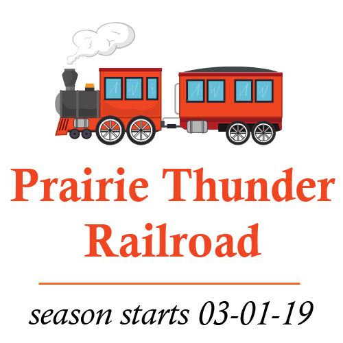 Prairie Thunder railroad spotlight